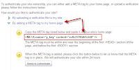 Dapatkan Meta Tag Yahoo