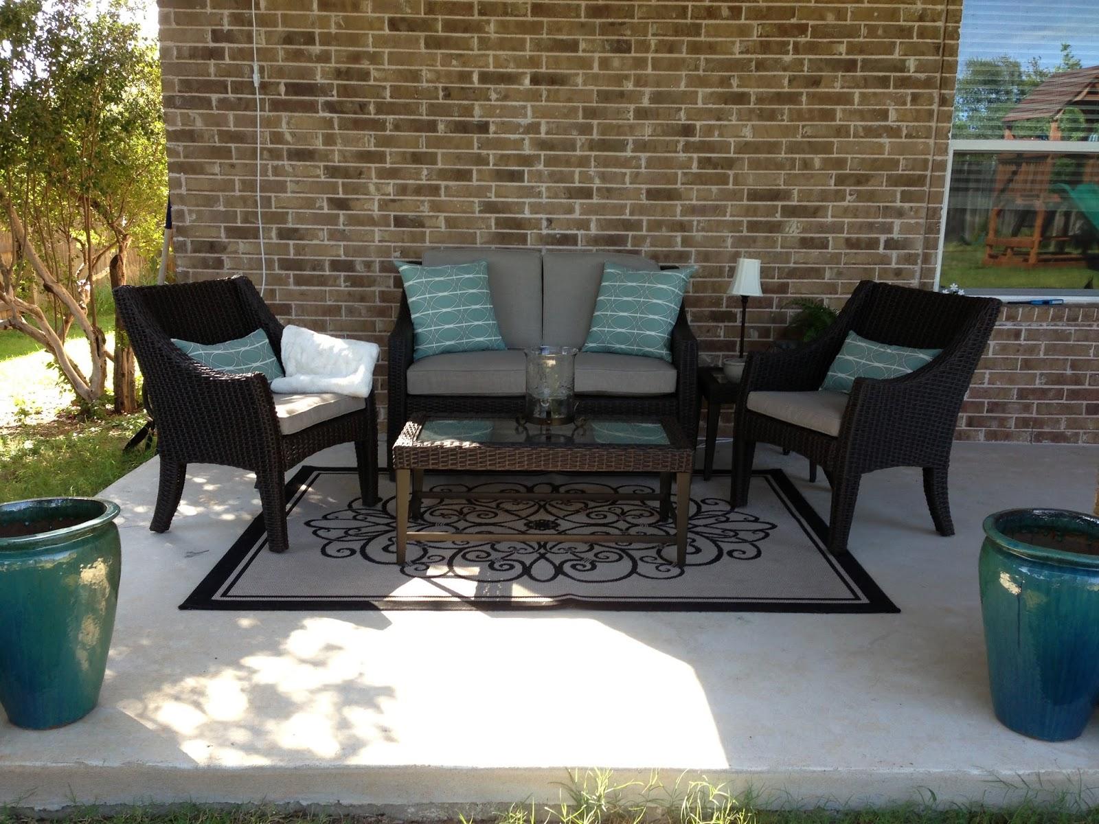 com set harbor seating threshold furniture crosley outdoor ip palm walmart patio piece wicker