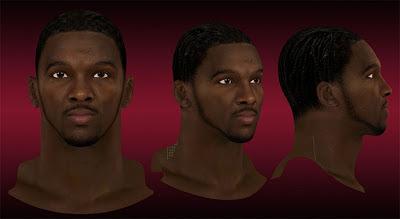 NBA 2K13 Kenneth Faried Cyberface Patch