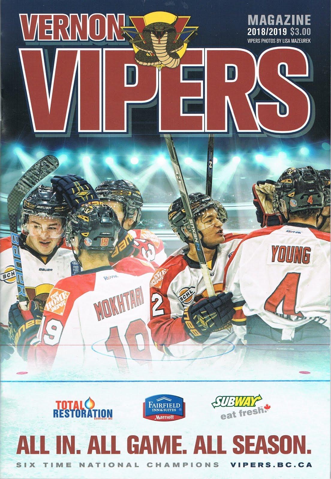 Vernon Vipers 2018-19 Program