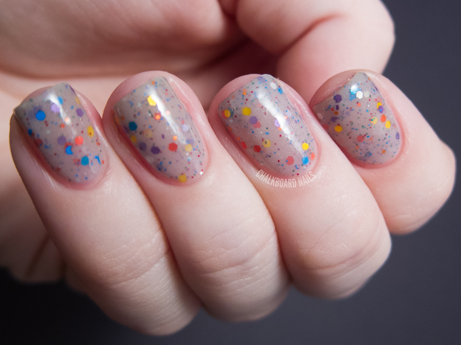 Lush Lacquer Swatch Spam | Chalkboard Nails | Nail Art Blog