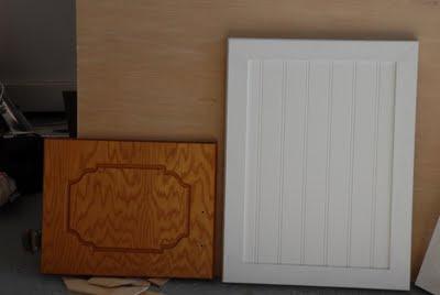 Shaker Beadboard Door   Kitchen Cabinet Doors