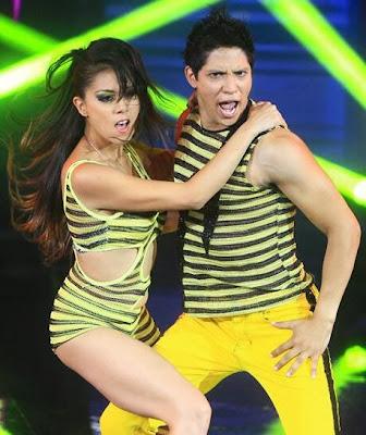 André Silva bailando en El Gran Show