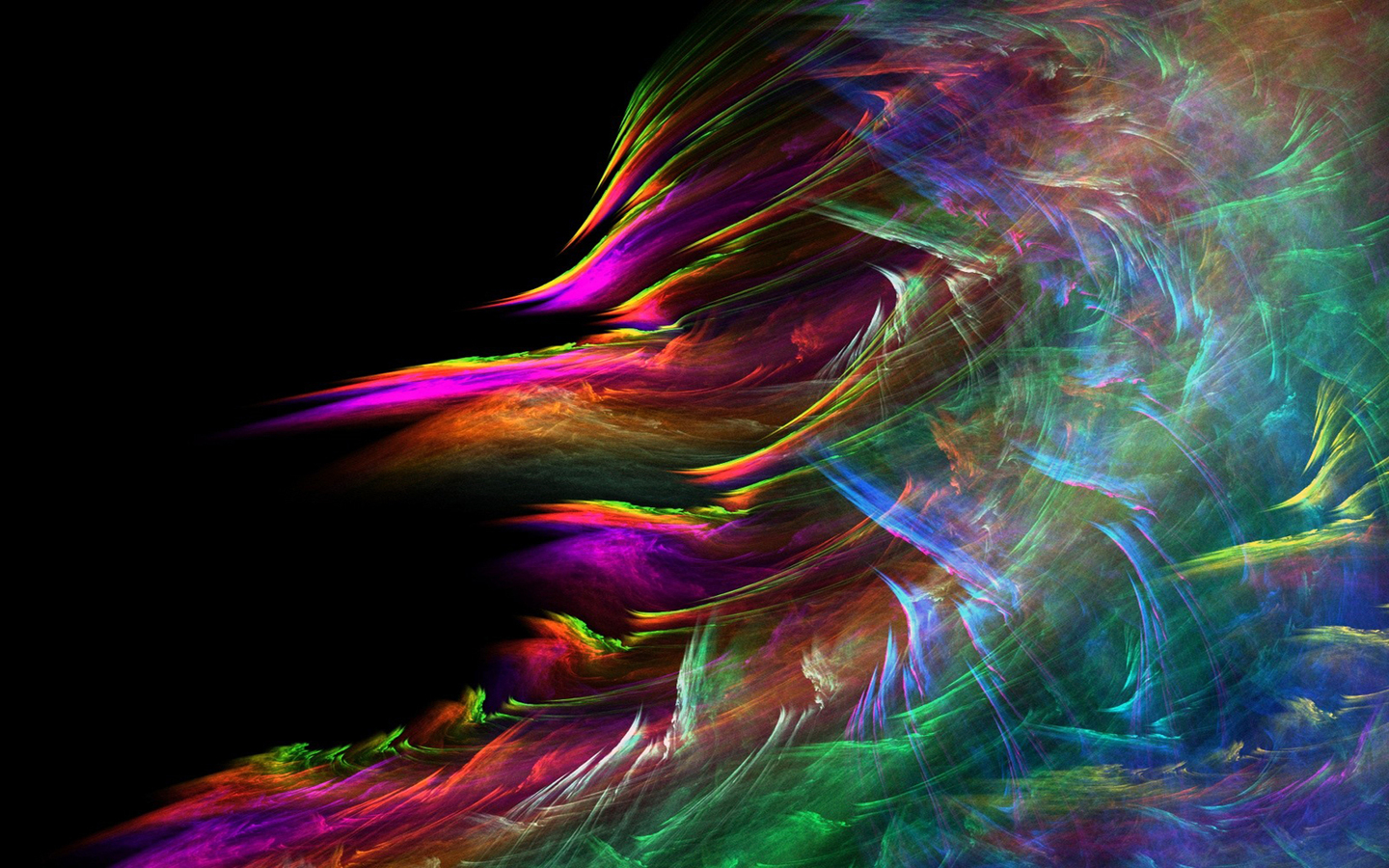 Colorful 3D Abstract Desktop Backgrounds