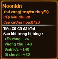 Chỉ số pet moonkin gunbao