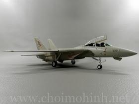 Máy bay mô hình tĩnh F-14A Tomcat VF-41 Black Aces AJ-107 hiệu Witty Wings tỉ lệ 1:72