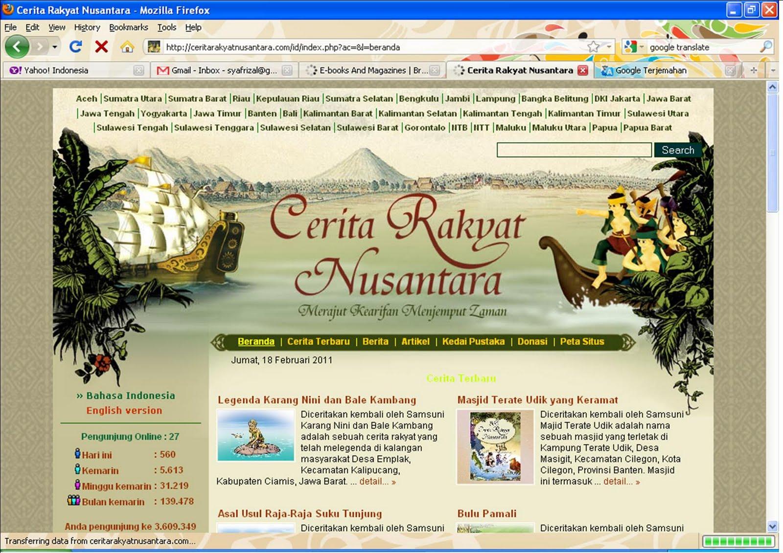 Literacy Cerita Rakyat Indonesia