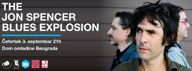 Koncert The Jon Spencer Blues Explosion u Domu omladine Beograda