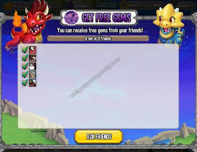 imagen de la funcion gemas gratis de dragon city