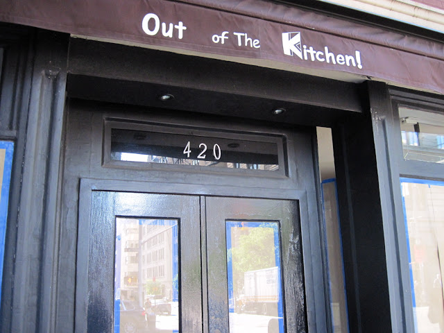 Out of the Kitchen is a restaurant in New York that will no longer invite you in
