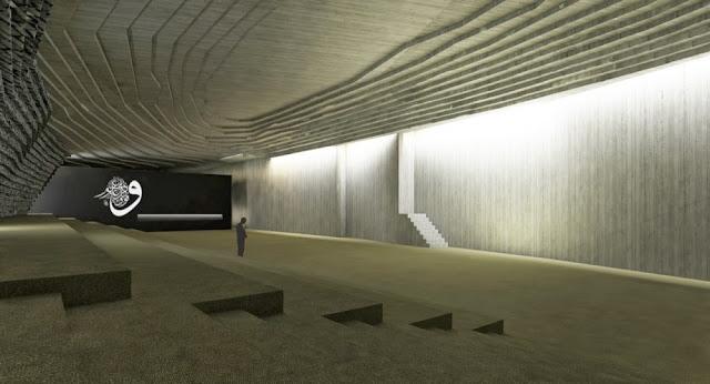 Masjid bawah tanah pertama di dunia Masjid Sancaklar