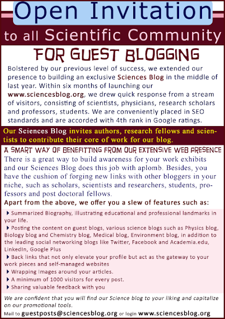 Guest Blogging For Scientific Community