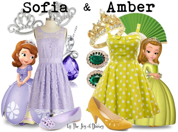 Sofia and Amber, Sofia the First