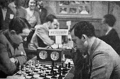 Partida de ajedrez Flohr-Koltanowski en el Torneo Internacional de Ajedrez Barcelona 1935