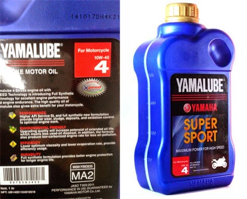 review Yamalube Super Sport