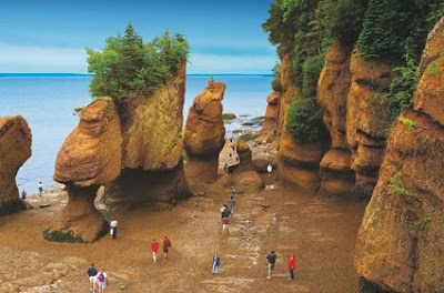 Bay of Fundy in Kanada