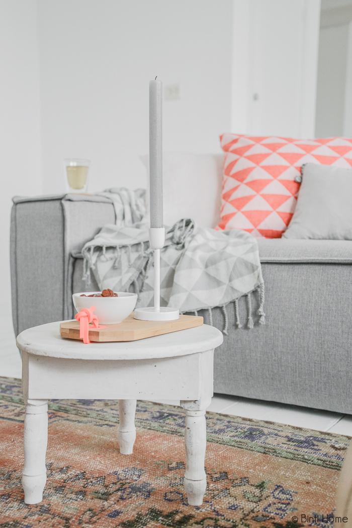 Marokkaans bijzettafel woonkamer styling | Binti Home