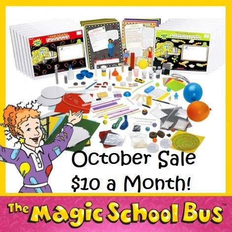 Science with Ms Frizzle anyone? 50% off a 1 year subscription through October!