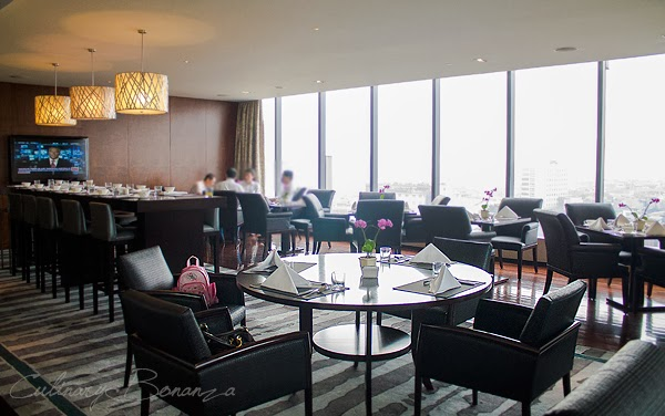 Executive Lounge on 11th floor at Hilton Bandung
