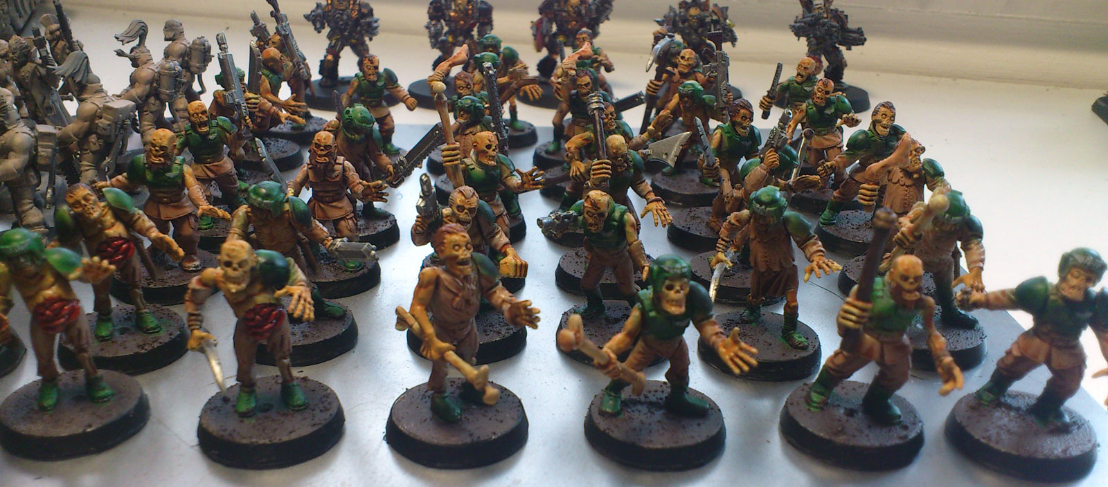 Stephanius 40k Plague Zombie Kit Bash