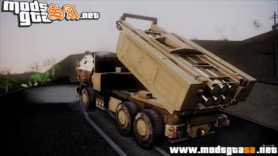 SA - M142 HIMARS Desert Camo