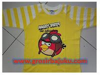 Kaos Raglan Merk Happy bunny dan Pooh branded