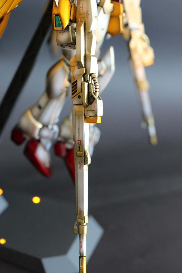 MG 1/100 Wing Zero Custom 'Gold Wing' - Painted Build