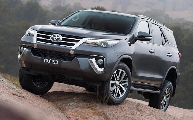 Nova Toyota Hilux SW4 2016