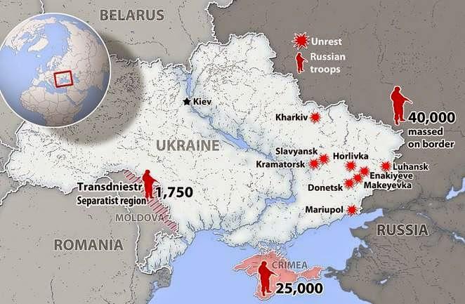 Protestas en Ucrania - Blog Geografía Política