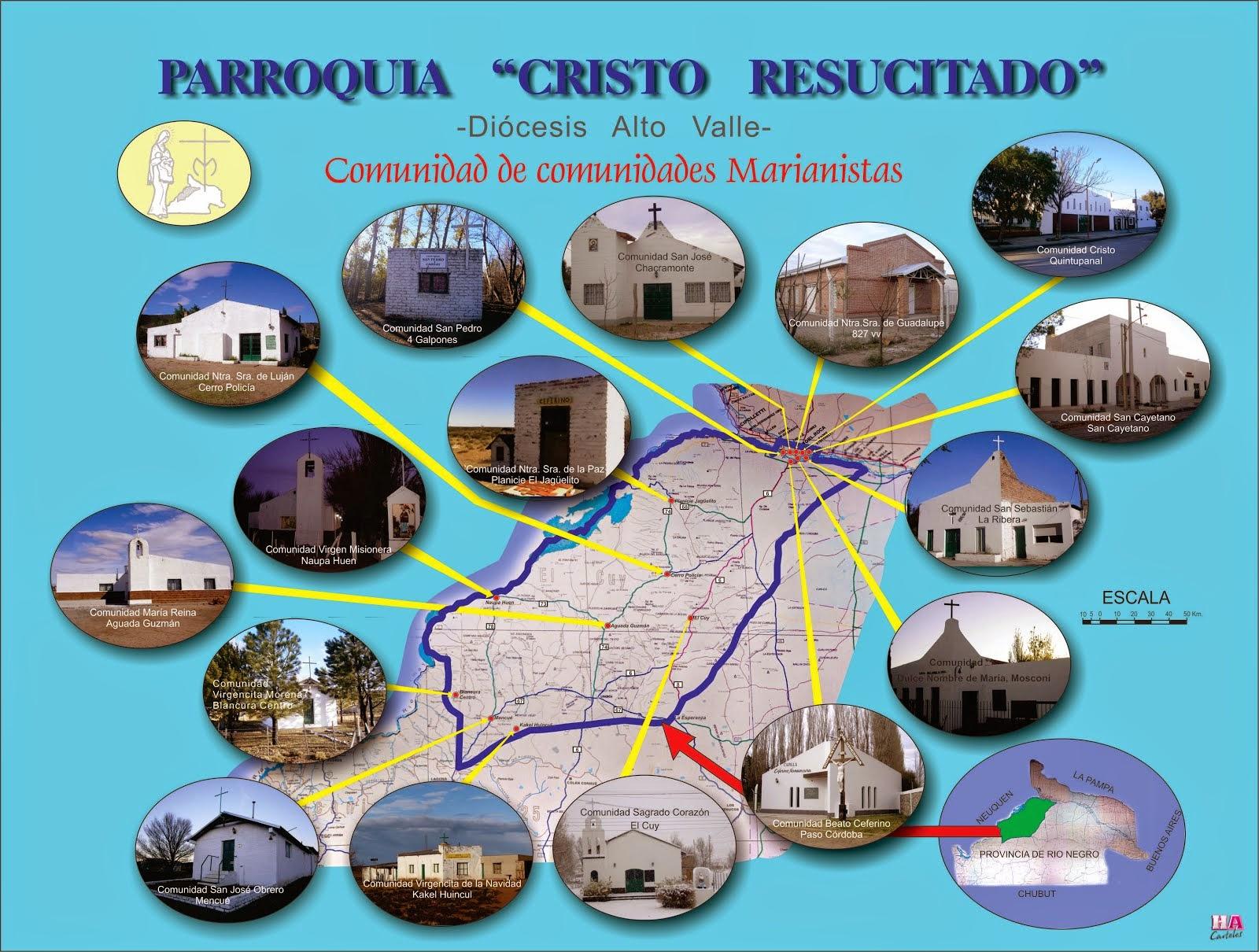 Mapa parroquial
