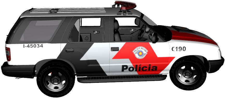Equipe tatica 3d mods policiais em geral chevrolet blazer 2010 for a t tica