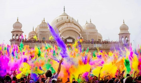 Holi, the festival of colors (India)