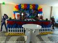 Tema Os Vingadores para decorar mesa de festa de aniversário infantil de meninos - decoração infantil