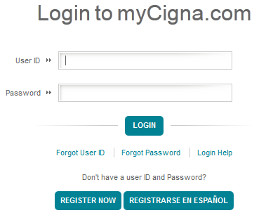 Register For  MyCIGNA to Login Healthcare Online Management Services