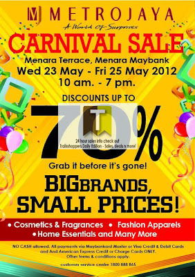 Metrojaya Carnival Sale 2012