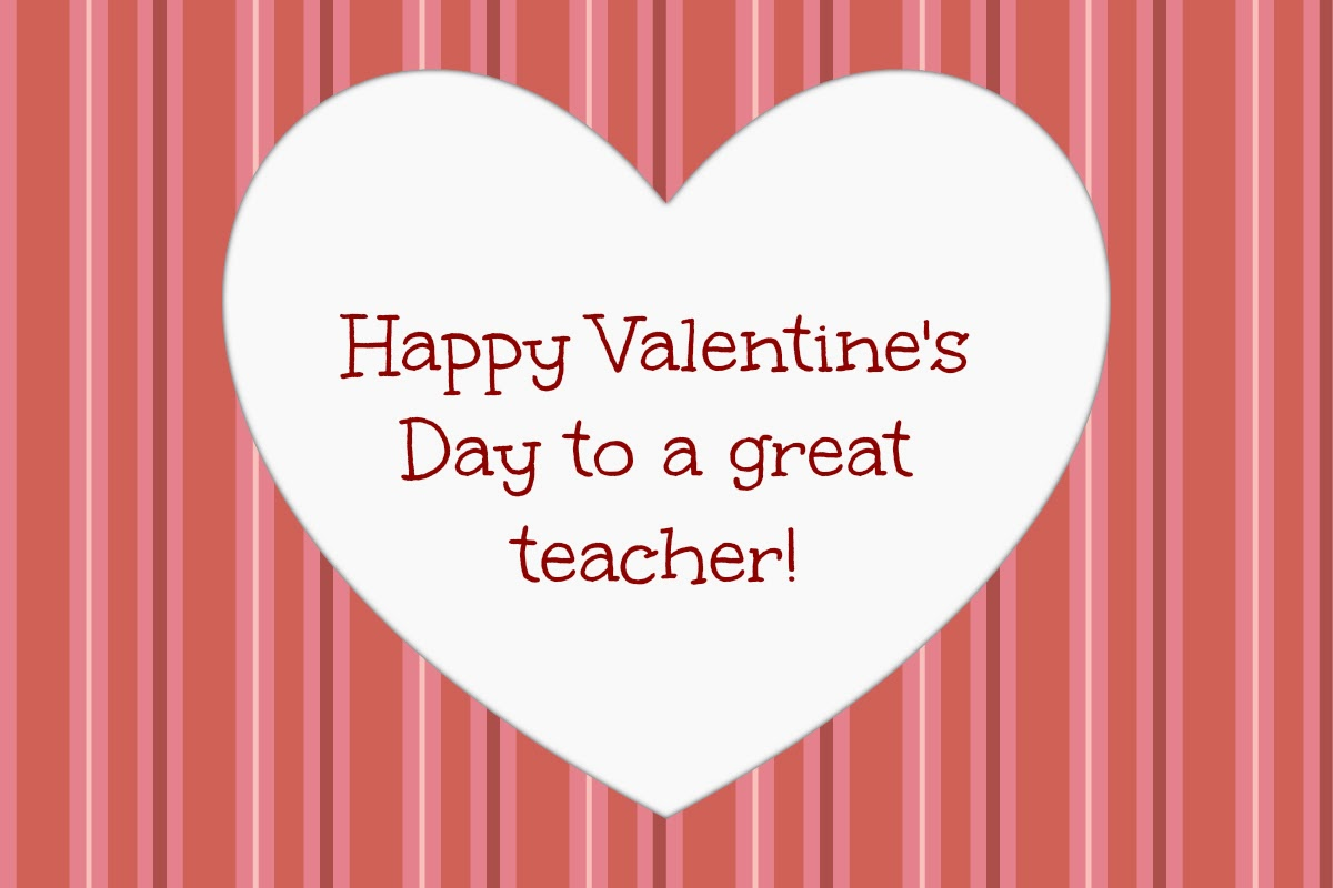 It's just a photo of Magic Printable Teacher Valentine Cards Free