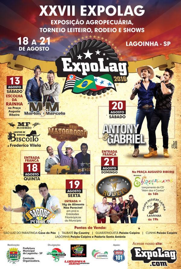 Cartaz da Expolag