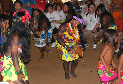 Embera and Wuonaan Indian Tribes in Panama