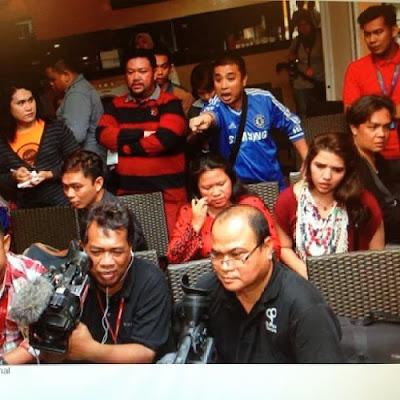 Zubir Bipop Ketika Sidang Media Aeril Zafrel