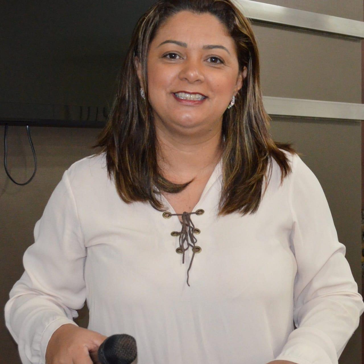 Vereadora Claudiceia Rocha
