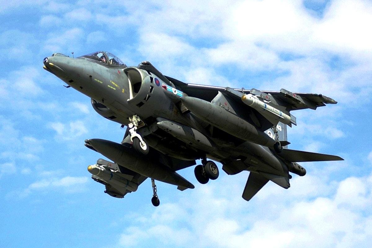 AV-8B Harrier II Jet Tempur 2