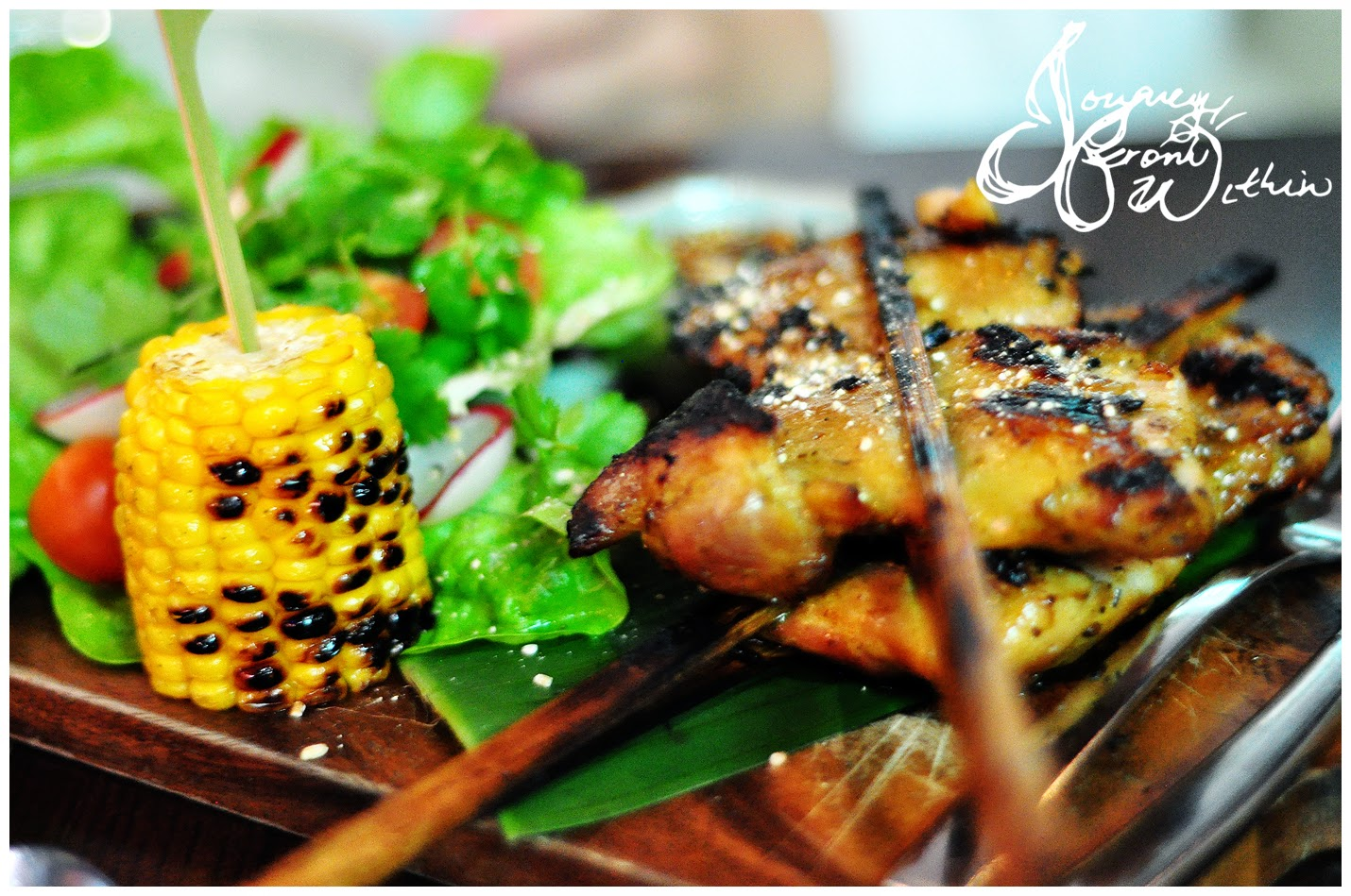 bo larn thai grilled chicken