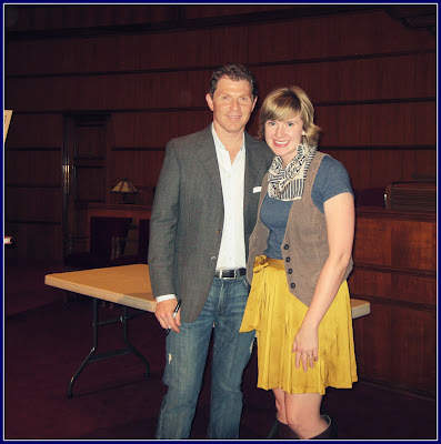 Shea lennon shea meets flay monday night i had the amazing opportunity to meet the great chef and grilling master bobby flay a local bookstore sponsored the event which was a live m4hsunfo Choice Image