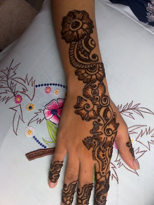 Beautiful Eid Collection For Girls Best Mehndi Designs 2014