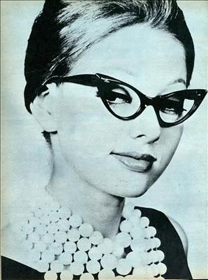 Gafas Cat Eye moda de los 50