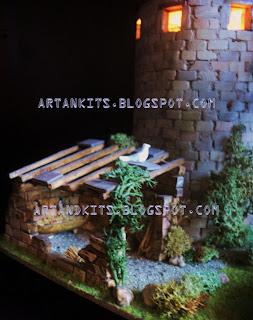 Eis as primeiras imagens de outro trabalho de modelismo. / The first images of another miniature model work