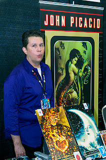 John Picacio at Alamo City Comic Con