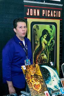 John Picacio at Alamo City Comic Con