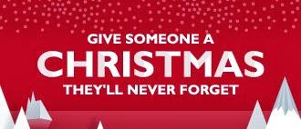 Christmas, John Lewis, secret, Santa, father christmas, Present, Gift, Red,