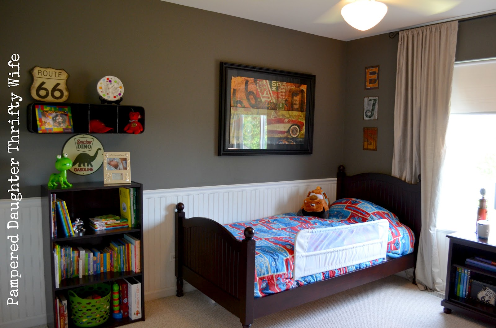 Pampered Daughter Thrifty Wife Boys Nursery Toddler Room